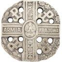 Odznaka pamiątkowa Akcja Burza - Armia Krajowa pin