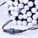 Lampki choinkowe mleczne kulki kule 50 szt. zimne Zastosowanie wewnątrz