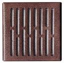 KRATKA WENTYLACYJNA OSŁONA 14x14 metal antyk M1AN