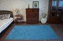 DYWAN 140x160 PHOENIX turkus gładki jednolity Kolor odcienie niebieskiego
