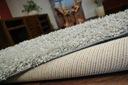 DYWAN SHAGGY 100x120 szary 5cm jednolity miękki Materiał wykonania polipropylen