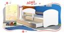 Łóżko dziecięce 180x80 szuflada materac ACMA II Bohater inny