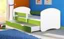 Łóżko dziecięce 180x80 szuflada materac ACMA II Płeć Chłopcy Dziewczynki