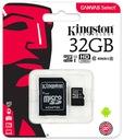 Kingston KARTA PAMIĘCI 32GB MICRO SD C10+ ADAPTER Producent Kingston