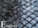 Mozaika szklana ICE BLACK efekt popękanego szkła