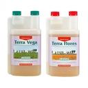 Zestaw nawozów CANNA 1L Terra Flores Vega 2x 500ml