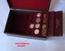 Элегантный деревянный Сундучок + 12 Поддонов ( 3 цвета) доставка товаров из Польши и Allegro на русском