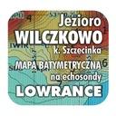 Jezioro Wilczkowo mapa na echosondy Lowrance BG