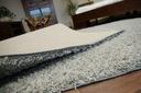 DYWAN SHAGGY 100x120 szary 5cm jednolity miękki Wzór jednobarwny