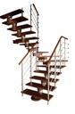 Лестница КОРА Морено 220 vertical U-180 12 элементов