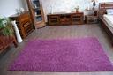 DYWAN SHAGGY 5cm fiolet 60x80 miękki jednolity Kolor odcienie fioletowego