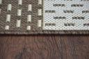 Dywan SIZAL 80x150 DWUKOLOROWY brąz beż #B768 Materiał wykonania polipropylen