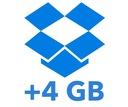 DROPBOX DOŁADOWANIE +4GB DOŻYWOTNIE