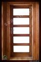Drzwi drewniane sosnowe dębowe jesionowe na wymiar Strona Lewe Prawe