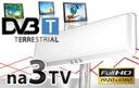 NAJMOCNIEJSZA ANTENA PANELOWA DVB-T HD 100dBuV 3TV Model ANTENA PANELOWA 3TV