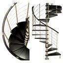 Schody kręcone, spiralne DUDA model Venecja 120 cm