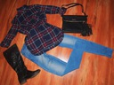 Zestaw ubrań 36 38 S/M bluzki buty torebka Mohito