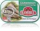 Sardynki portugalskie w oleju Ramirez 125g