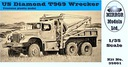 Mirror Models 35801 1/35 US Diamond T 969A Wrecker