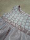 Sukienka tiul chrzciny roz 68