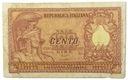 21.Włochy, 100 Lirów 1951, P.92.b, St.3