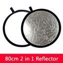 Blenda 2 w1 okrągła 80 cm + pokrowiec