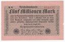 140(9b) - Berlin,5 Milionów Marek 1923