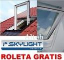 OKNO SKYLIGHT PREMIUM 55x78 + KOŁNIERZ + ROLETA !