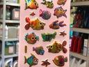 Ryba rybki zwierzęta naklejki zestaw