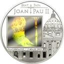 2011 Andora - Beatyfikacja JP II hologram srebro