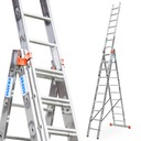 Drabina aluminiowa 3x10 KRAUSE PROFESSIONAL 120618