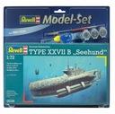 Model do sklejania REVELL German Submarine Type XX