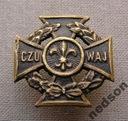 Krzyż Harcerski typ palestyński wyk. warsztatowe