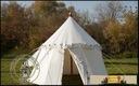 Pavilion with one pole - (phi 4,2 m) - cotton