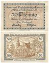 TICHAU - TYCHY - 50 Pfennig 1919