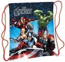 Worek szkolny Avengers Marvel Licencja Prezent