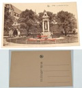 Stara pocztówka - Liege - Le Monument Del Cour