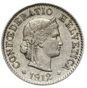 Szwajcaraia - moneta - 5 Rappen 1912 - RZADKA !