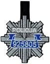 NASZYWKI SPINAKE Gwiazda POLICJA Naszywka 790