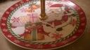 Patera taca porcelanowa 3-poziomowa Święta