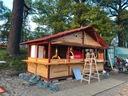 Domek drewniany ,wiata ,garaż ! Okazja !solidny !