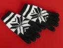 Ciepłe dzianinowe rękawiczki