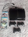 Uszk. PS3 + 3 Pady i gry Dragon Age, Little big