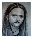 Artystyczny portret na zamówienie format A3 ołówek
