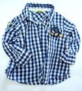 Superowa koszula w kratkę roll up 68