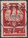 1945 - Wyzwol.10 miast - Radom Fi 352 kas