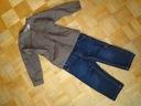 Dwie koszule + spodnie Cubus 92