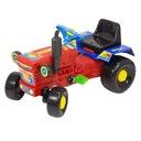 Traktor zabawka jeździk pojazd dla dzieci czerwony