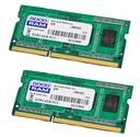 8GB GOODRAM 2x4 GB SODIMM DDR3 1333 MHz 512x8 RAM