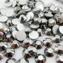 Cyrkonie typ Swarovski ss12 silver hematyt